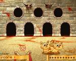 jeux flash Le Lancer de Chat