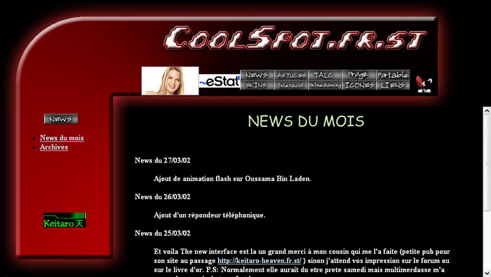 Version 3 du site