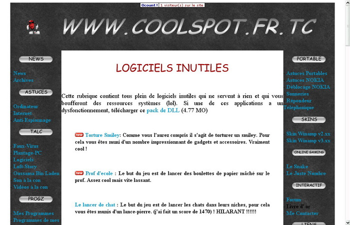 Version 5 du site