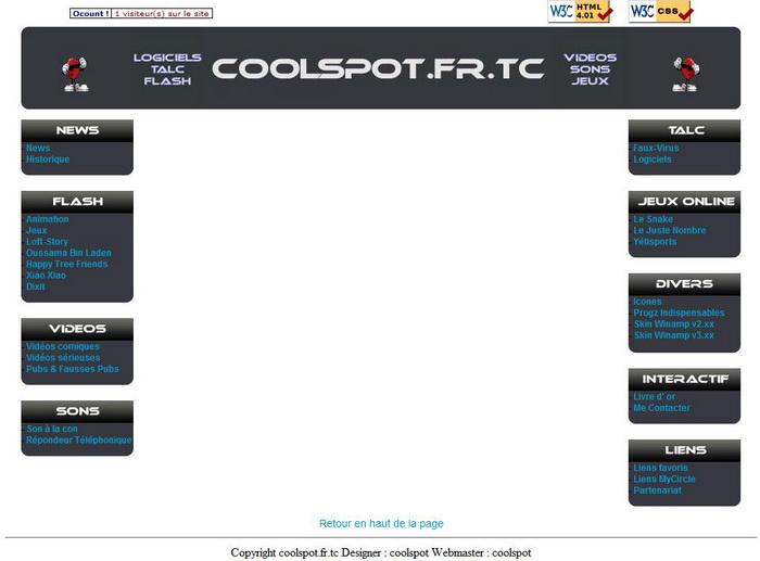 Version 8 du site